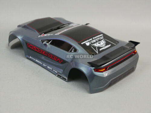 Finished Red Cat 200mm BODY SHELL 1//10 RC Car THUNDER DRIFT Body SHELL Painted