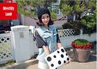 Women Hat Lady Warm Knitted Hat Cat Ear Hat Beanie Hat Cap