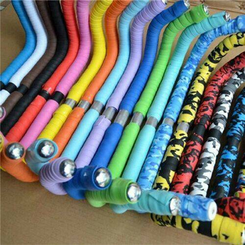 Details about  /Handlebar Tape Cycling Sport Road Bikes Rubber Foam Handle Bar Grip Wrap Tapes .