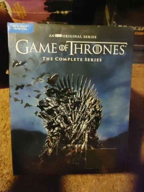 HBO Game of Thrones Complete Series Seasons 2019, Blu Ray + Digital  brand new
