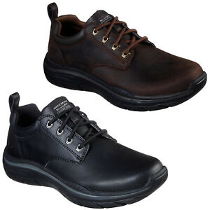 Details about Skechers Relaxed Fit: Expected 2.0 Harlo Shoes Mens Smooth Leather Rugged 66421