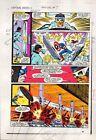 1983 Captain America Annual 7 page 19 Marvel Comics color guide art: 1980's
