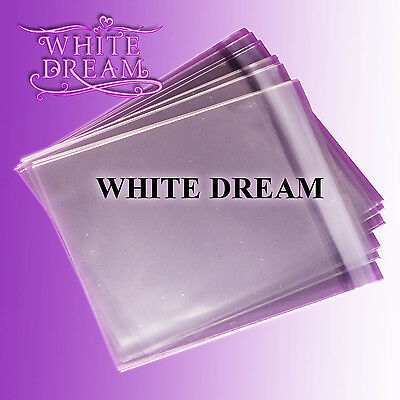 50 Crystal Clear Cellophane Cello Greeting Cards Bags 159mm x 155mm