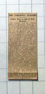 1930-New-Play-In-Aid-Of-Rn-Hospital-By-The-Chigwell-Players-Iron-Cop