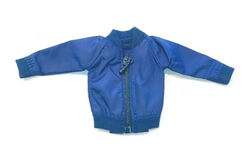 SU-MJK-BL no Figure 1//12 Blue zipper Jacket for Marvel Legends Mezco body