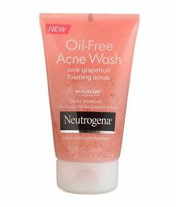 Neutrogena Oil-Free Acne Wash Foaming Scrub, Pink Grapefruit - 6.7 Oz, 6 Pack Paulas Choice PC4MEN Nighttime Repair 1.7oz