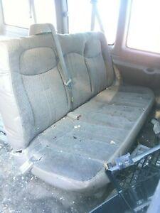 gmc savanna seats manual