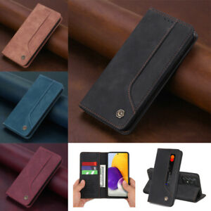 Magnetic Leather Wallet Case Cover For Samsung Galaxy A72 A52 A42 A32 5G A12
