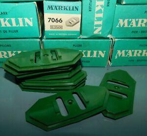 MARKLIN-HO-ref-7066-11-PLAQUES-DE-SOUBASSEMENT-POUR-PILIERS-DE-PONT-3mm-NEUF
