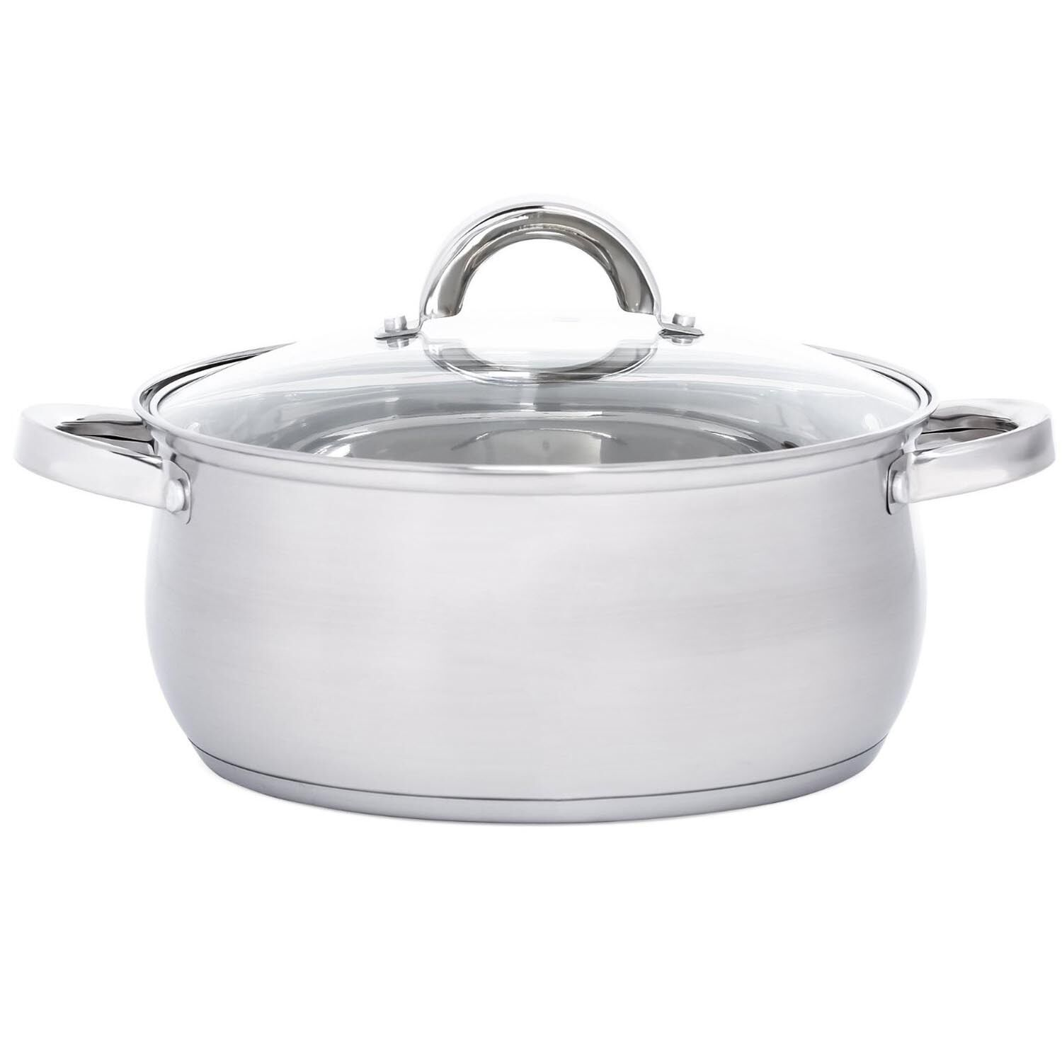Kitchen Set Pots And Pans: Heim's 12 Pieces Cooking Pots And Pans Kitchen Stainless