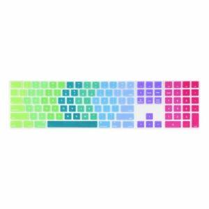 Magic Keyboard with Numeric Keypad MQ052LL/A Rainbow Silicone keyboard Cover