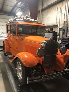 31 ford all steel 2d sedan