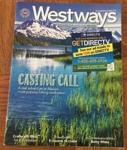 "Triple Aaa Westways Magazine November /December 2013 ""Casting Call"""