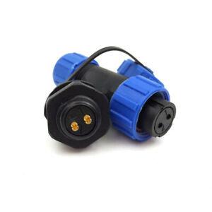 1pcs-2Pin-Waterproof-IP68-Aviation-Connector-13A-Solder-LED-Plug-Socket-Durable