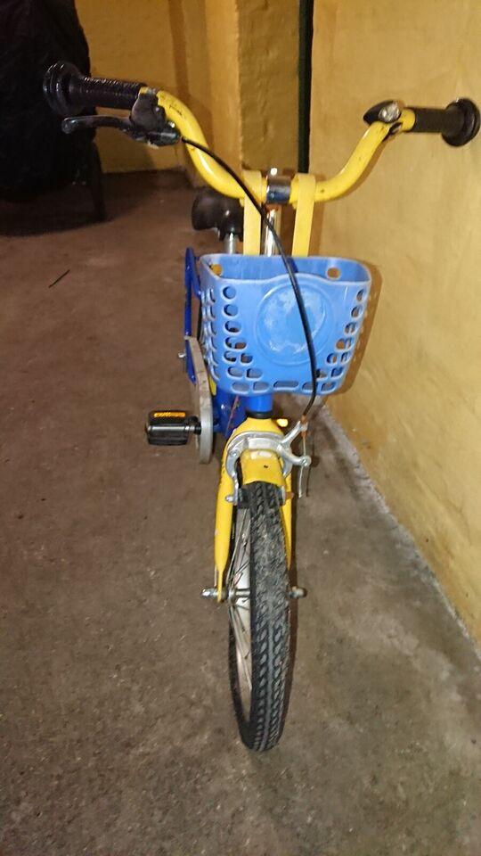Drengecykel, classic cykel, PUKY