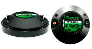 One-Timpano-TPT-D3000-3-039-039-200-Watts-Pro-Car-Titanium-Horn-Compression-Horn