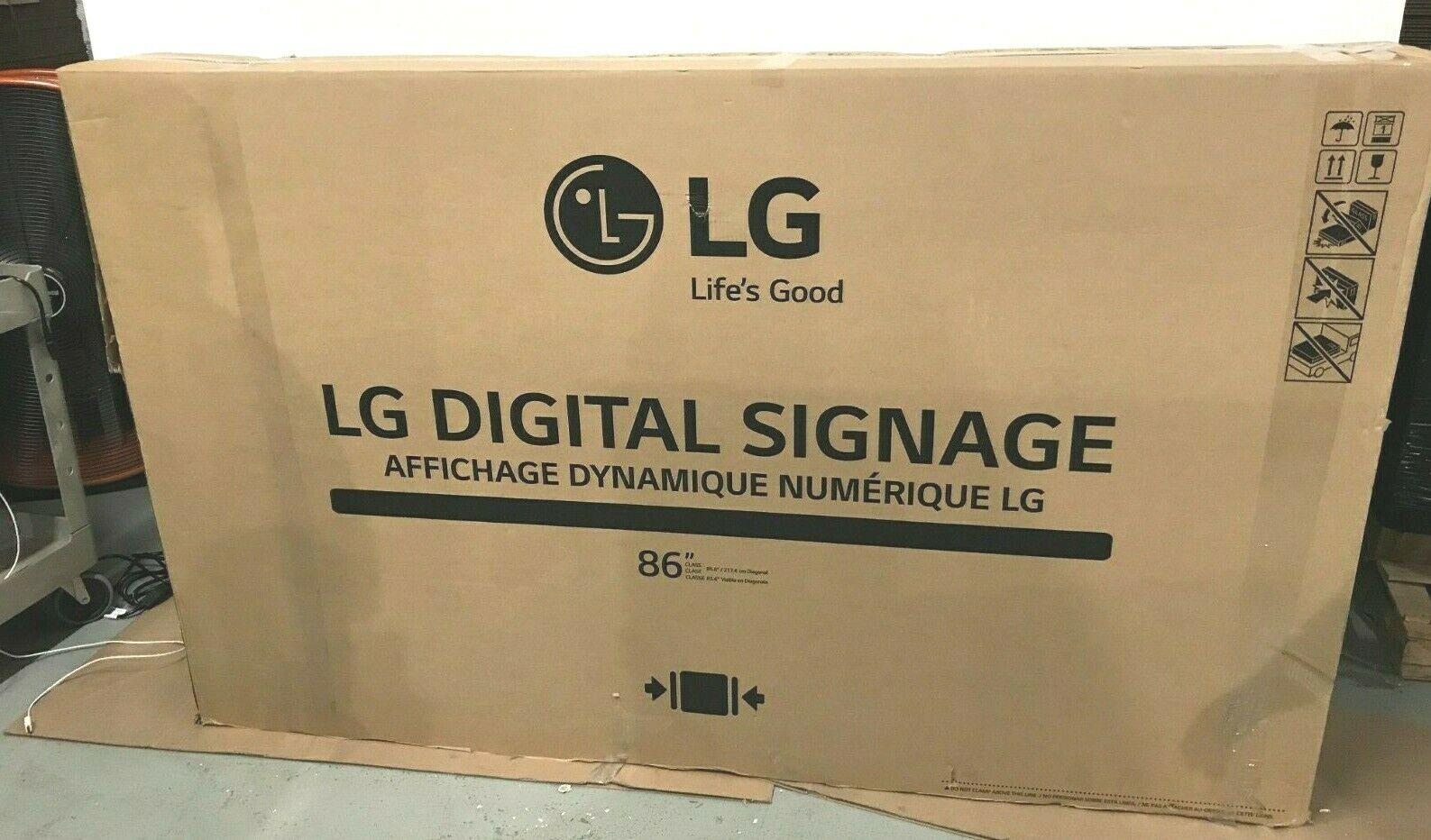 Open box ⭐ LG Electronics 86
