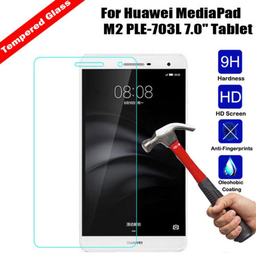 Premium 9H Tempered Glass Screen Protector Shield For Huawei Mediapad T3 7.0 NEW