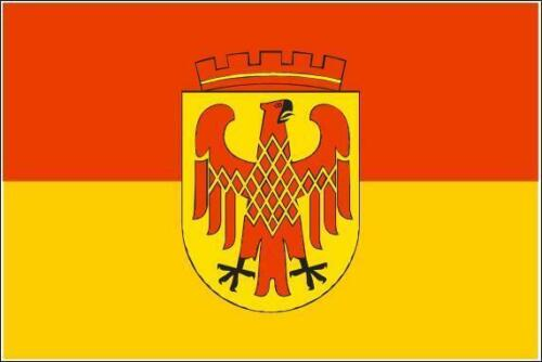 Fahne Flagge Potsdam 30 x 45 cm Bootsflagge Premiumqualität