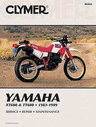 Yamaha XT600 TT600 XT 600 1983-1989 Clymer Manual M416 NEW   eBay on