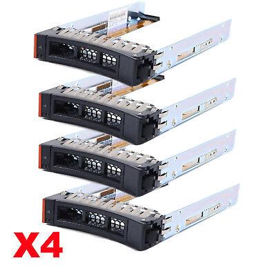 "Lot of 4,2.5/"" SAS//SATA Hard Drive Caddy Tray for IBM System x3250 M3 4251-62U"