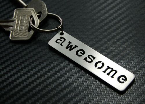 AWESOME Excellent Outstanding Cool Neat Surf Snowboard Skate Keyring Keychain