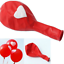 6-ballon-Blanc-avec-c-ur-rouge-ou-rouge-avec-c-ur-blanc-fete-St-valentin-mariage miniature 4