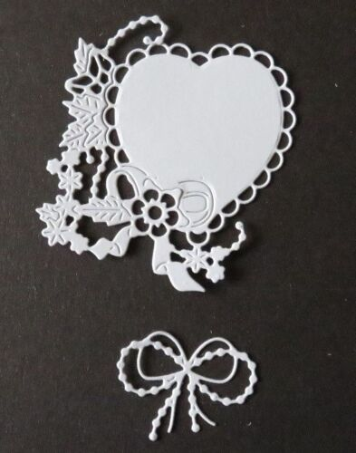 Tattered Lace Melded Heart Die Cuts