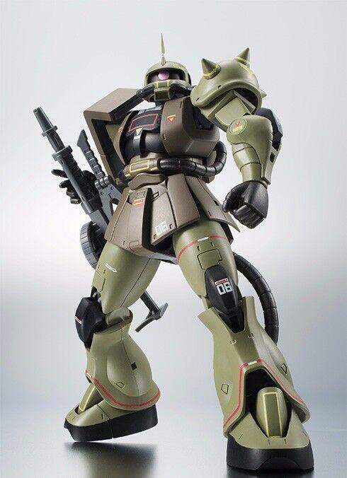 Robot Spirits Seite Ms MS-06 Zaku II Ver a. N. I. m. E. Real Typ Farbe Figur