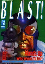 BLAST BRITISH MONTHLY MAGAZINE #1 JUNE 1991 VF