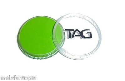 TAG Body Art 32g Regular Light Green Professional Face and Body Paint - Make up
