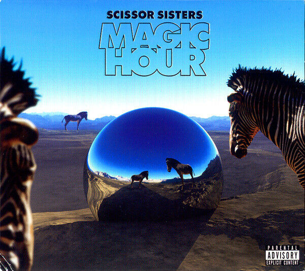 Scissor Sisters ‎– Magic Hour CD & DVD Polydor ‎2012 NEW/SEALED NTSC