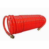 Speedway 1/4 X 25' Recoil Nylon Air Hose