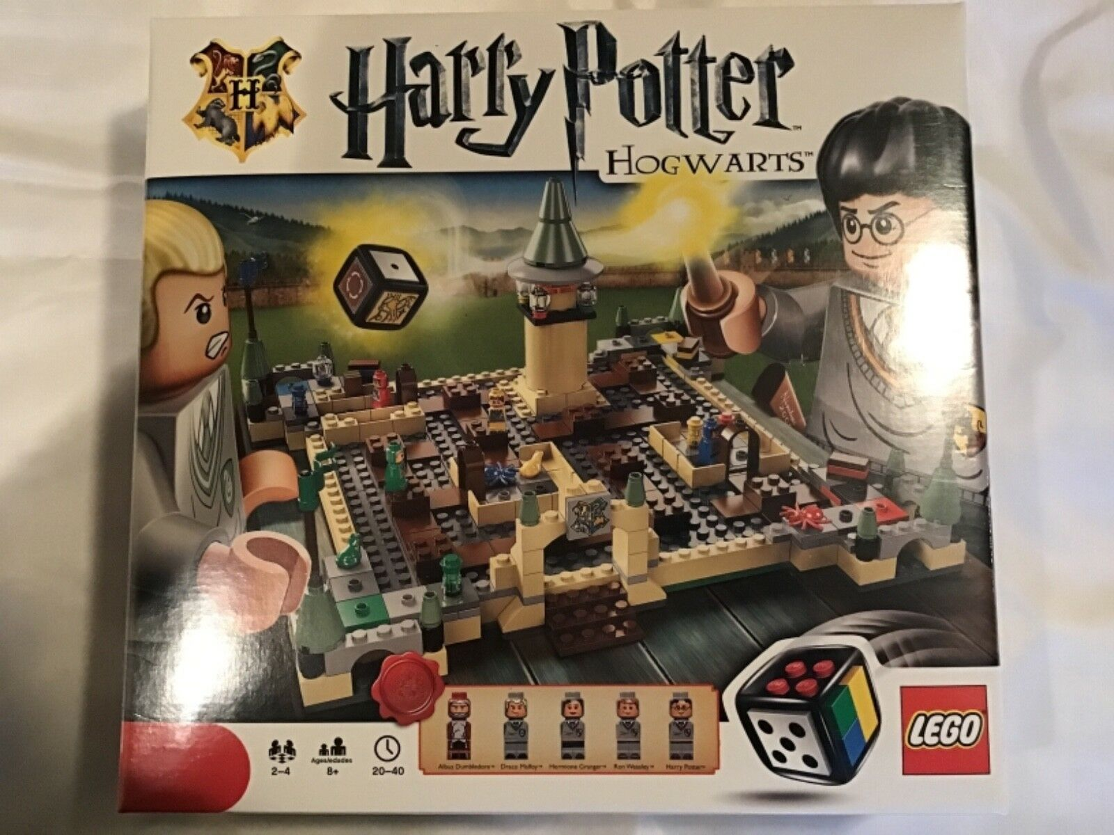 New LEGO 3862 Harry Potter Hogwarts Castle Game Rare Christmas Holiday