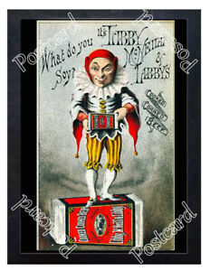 Historic-Libbys-tinned-beef-Jester-Advertising-Postcard