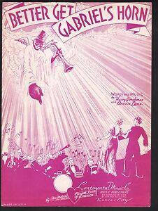 Better-Get-Gabriel-039-s-Horn-1936-Sheet-Music