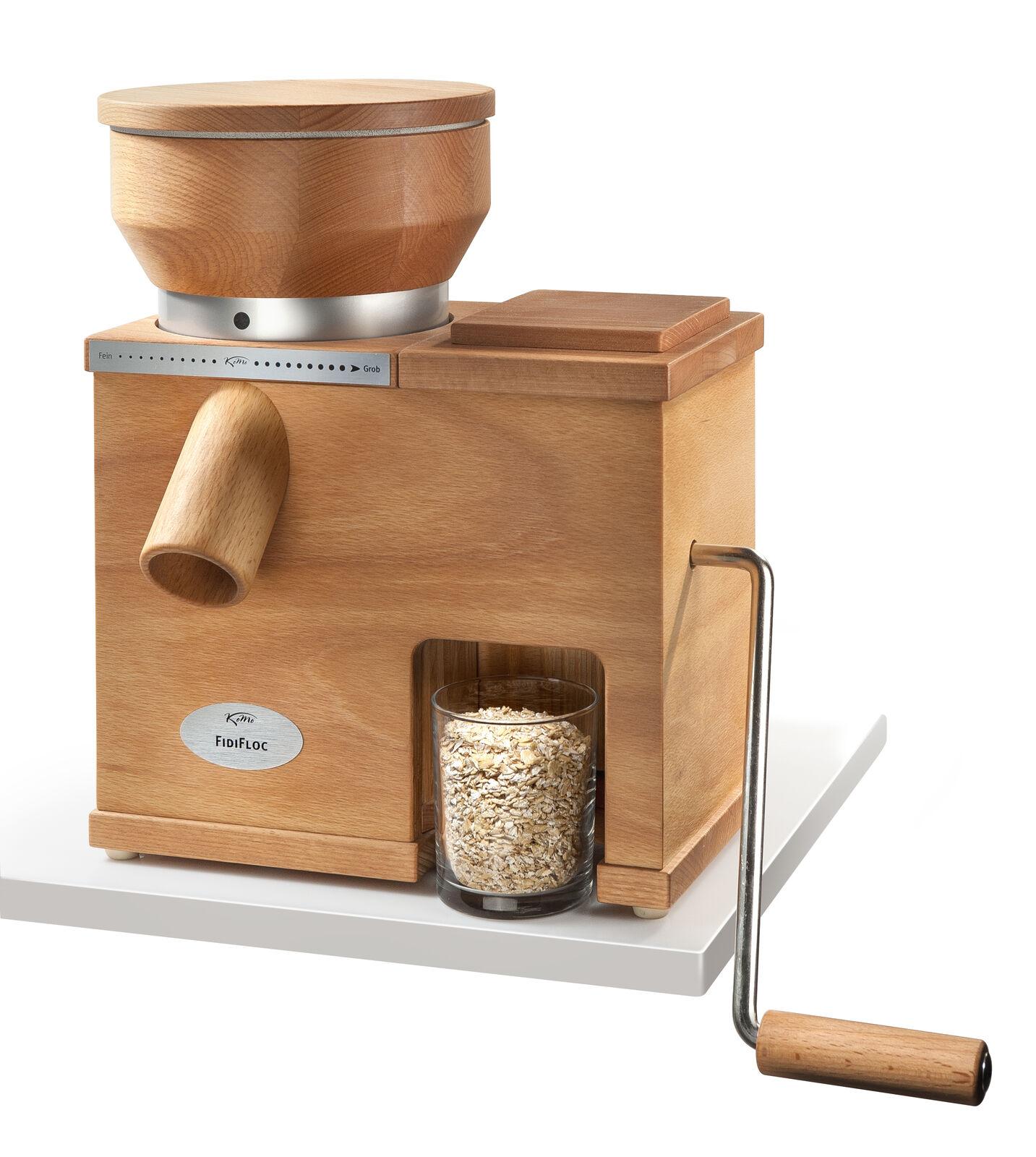 Céréales Moulin et flocons resserrez KoMo FidiFloc Medium