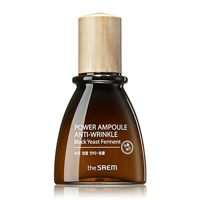 [THE SAEM] Power Ampoule Anti-wrinkle 40ml / Black yeast & Bifida ferments