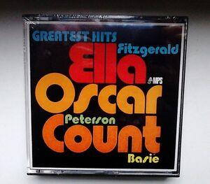 Ella-Fitzgerald-Oscar-Peterson-Count-Basie-2-Spur-Tonband-Reel-to-Reel