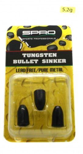 Spro Tungsten Bullet Sinker 5,2g