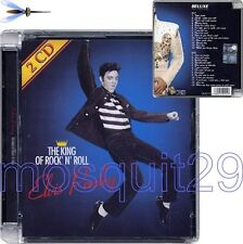 """ELVIS PRESLEY """"THE KING OF ROCK'N'ROLL - DELUXE COLLECTION"""" RARE CD ITALY ONLY"""