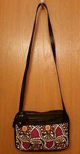 Relic Tapestry Pink Orange Green Floral Shoulder Bag Handbag