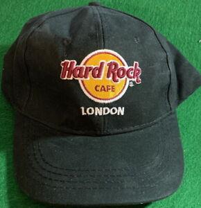 Hard-Rock-Cafe-LONDON-2020-Black-Baseball-HAT-CAP-Classic-HRC-LOGO-New-with-Tag