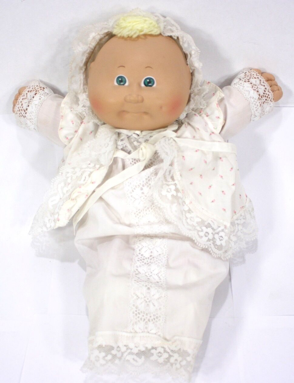 Cabbage Patch Kids 1982 Original Baby Blonde Girl Doll -   3 Coleco - OK PA-1044