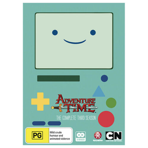 1 of 1 - Adventure Time : Season 3 (DVD, 2014, 2-Disc Set)