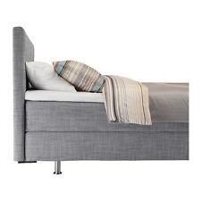 Ikea Årviksand Divan Bed frame Double (cover only!!)- Isunda Grey 702.571.48