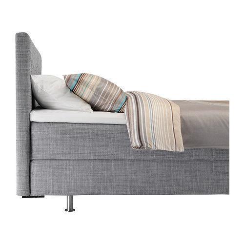 IKEA ARVIKSAND Covers Only for Divan Bed Frame King . Isunda Grey | eBay
