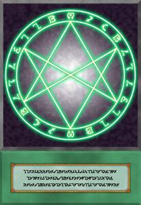Yugioh-Orica-The-Seal-of-Orichalcos-sceau-de-Orichalcos-Anime-Carte-Card