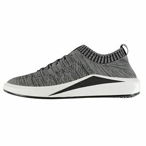 Tapout-Mens-Knitted-Runners-Low-Top-Trainers-Lace-Up-Sports-Shoes-Breathable