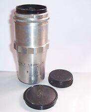 Carl Zeiss Jena Triotar 4/135mm T 3774468 Objektiv lens !